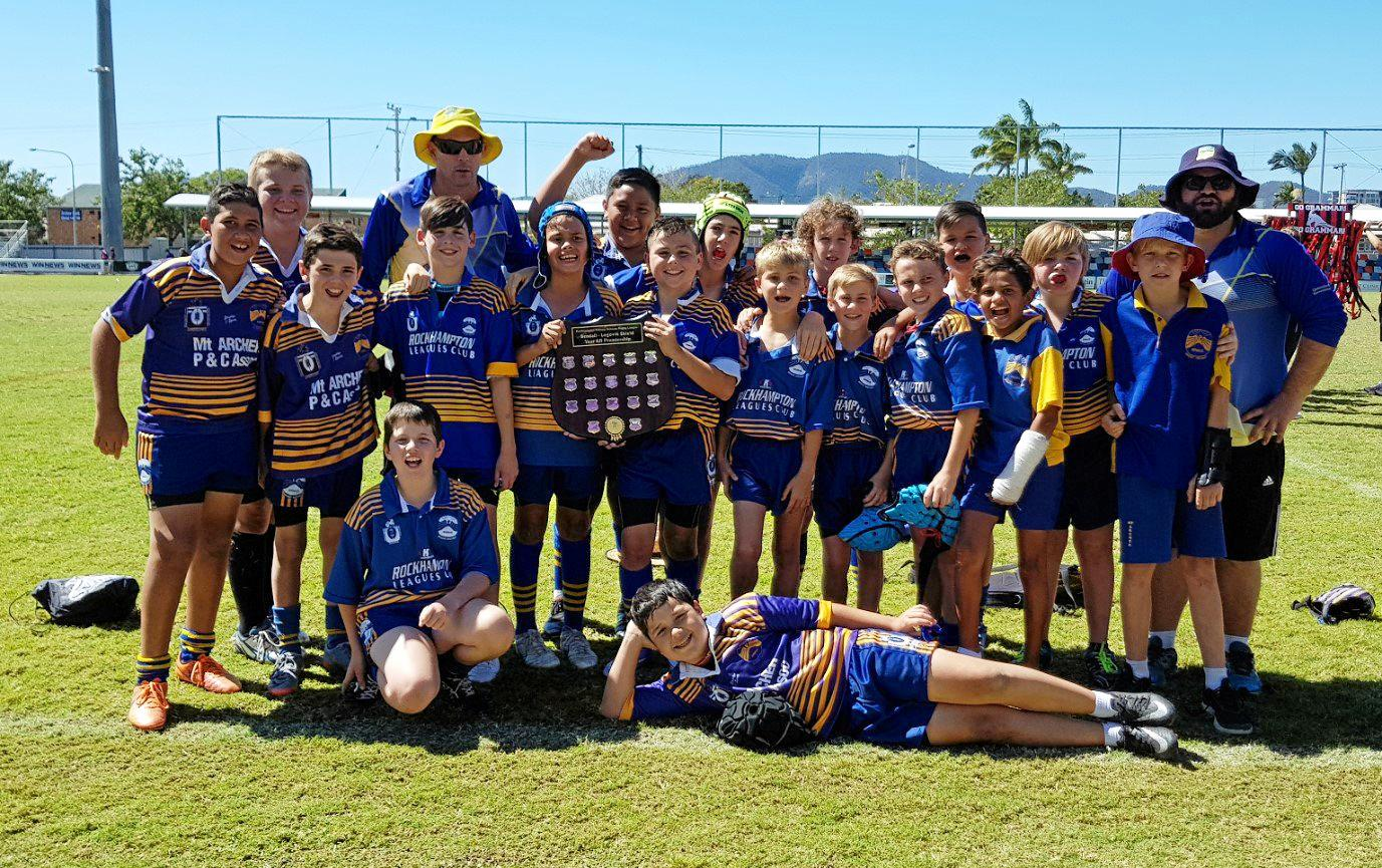 Mt Archer State School, 6B premiers 2017.