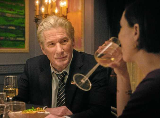 Richard Gere in a scene from the movie The Dinner.