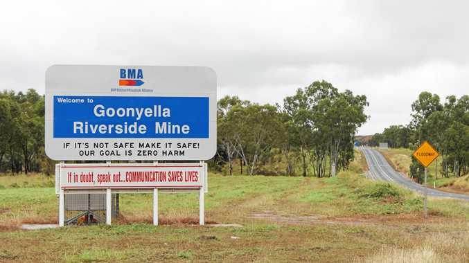 IN COURT: BMA Goonyella Riverside Mine.