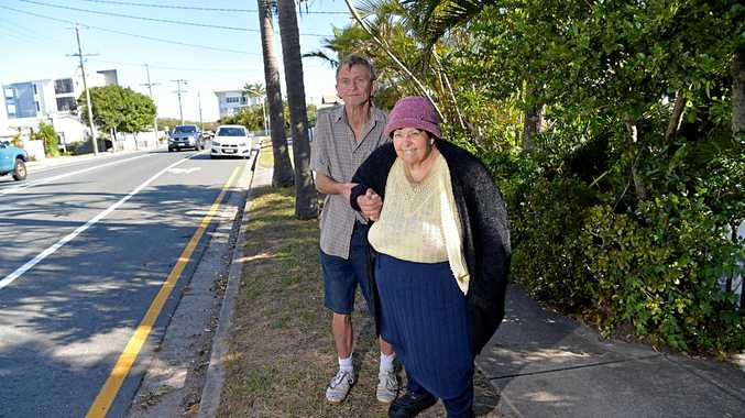 Peter Pearce is going to fight an infringement notice he was given for parking on a yellow line.Elizabeth is being cared for by Peter and lives in the house the infringement occured.