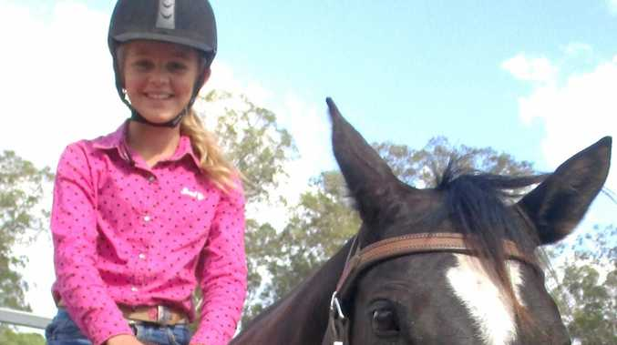 Holly Myers, riding Marsha, took out Second Place in the Junior Draft.