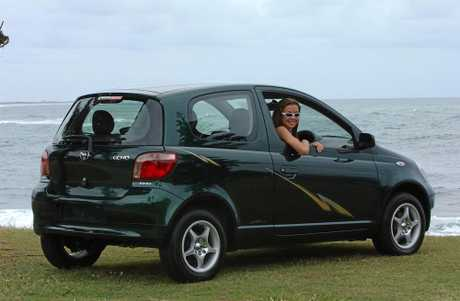 The Toyota Echo received a one star safety rating.