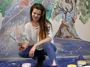 International artist showcased at Byron's YAC