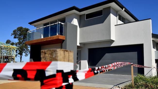 New residential properties in Kellyville, Sydney, NSW. Picture: Joel Carrett/AAP