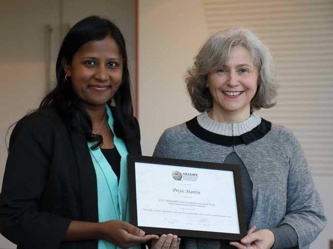 Darling Downs Health Service researcher Priya Martin.