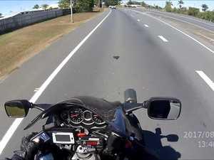 Police Hayabusa helmet cam