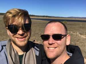 Gay couple to wed at Leslie Dam this weekend