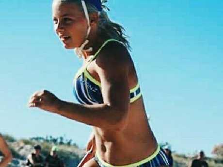 Libby Bell was an award-winning junior life saver.