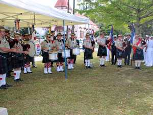 Great gig for Pipes and drums