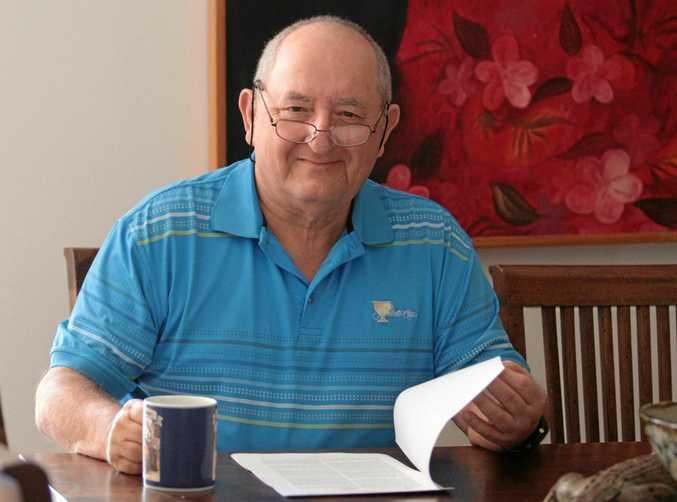 Retired member for Fairfax, Alex Somlyay. Photo Darryn Smith / Sunshine Coast Daily
