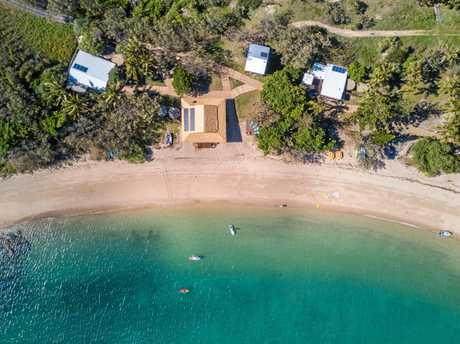 Travellers can rent the entire Pumpkin Island, located in the Keppels off the coast of Yeppoon.