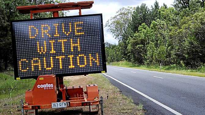 Motorists are being asked to drive with caution on Eltham Bridge at Pearces Creek. File photo.