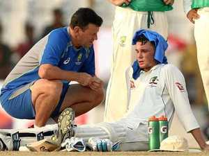 Handscomb loses 4.5kg during knock for Australia