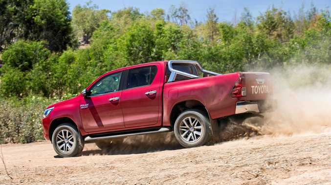 The Toyota HiLux SR5 4x4 Dual Cab.