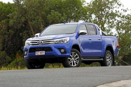 The Toyota HiLux SR5.