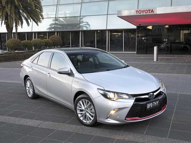 Only 54 Commemorative Toyota Camrys have been produced to celebration Australian manufacturing.
