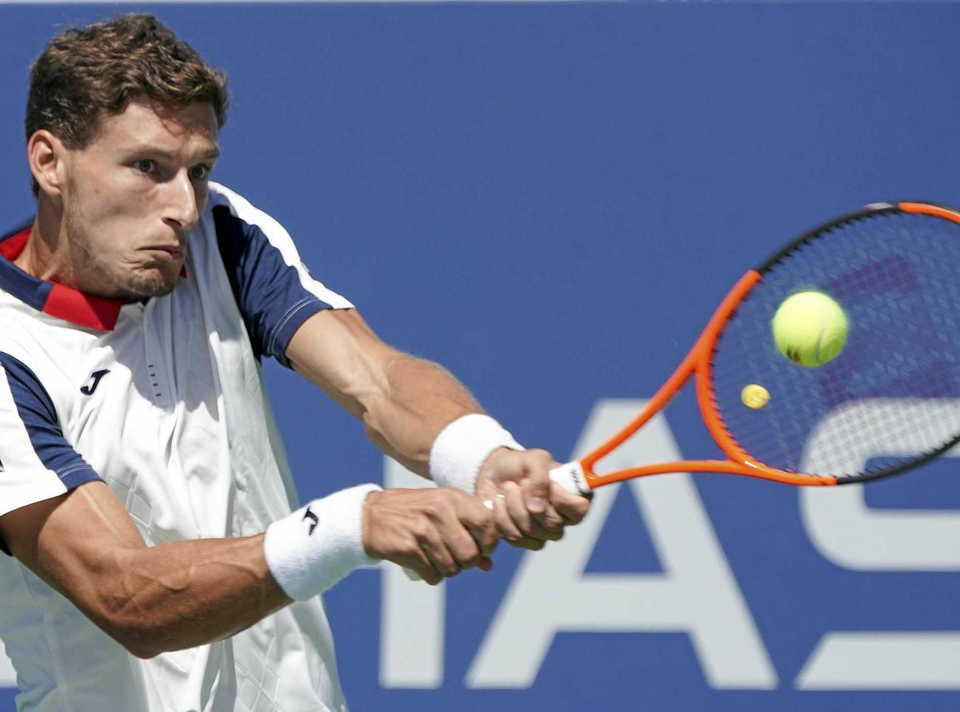 Pablo Carrena Busta is in the US Open semi-finals.