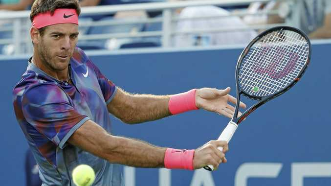 Juan Martin del Potro will take on Roger Federer in the US Open quarter-final.
