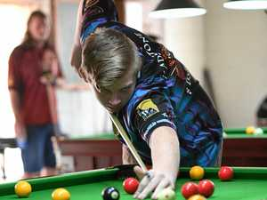 Kain shows he's able, claiming Bundy pool classic