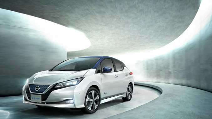 Nissan has introduced the 2018 Nissan Leaf, the next evolution of its zero-emission electric vehicle.