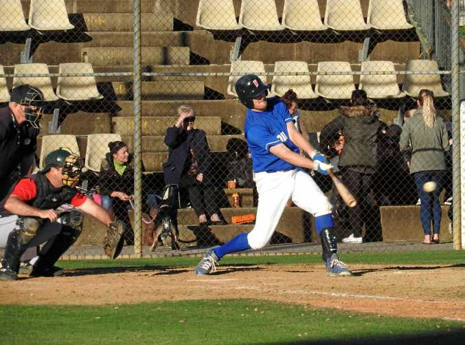 CURVE BALL: Workers Club player Daniel Clark gave an outstanding performance against North's last weekend.
