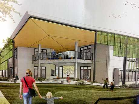 First look at the Byron Bay Public School upgrade.