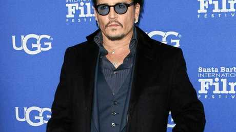 Pictured: Present day Johnny Depp.