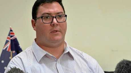 BURQA BAN: Federal Member for Dawson George Christensen.