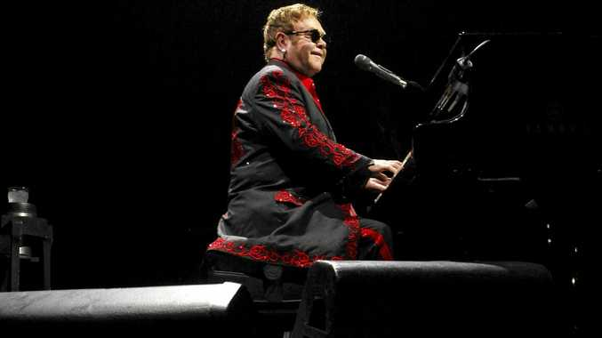 ROCKET MAN: Elton John will perform his 'Once in a Lifetime' tour in Mackay later this month.