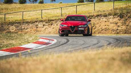Sitting atop the Alfa Romeo Giulia range is the hero Quadrifoglio.