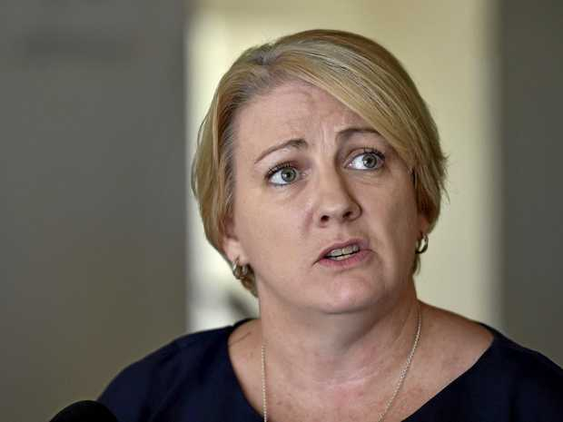 MP Coralee O'Rourke in Toowoomba for discussion on NDIS.