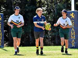 Tate gets ready for a big clash at Noosa