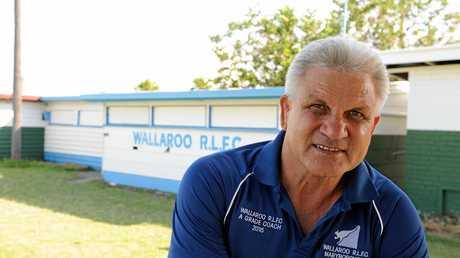 Former coach Colin Scott.