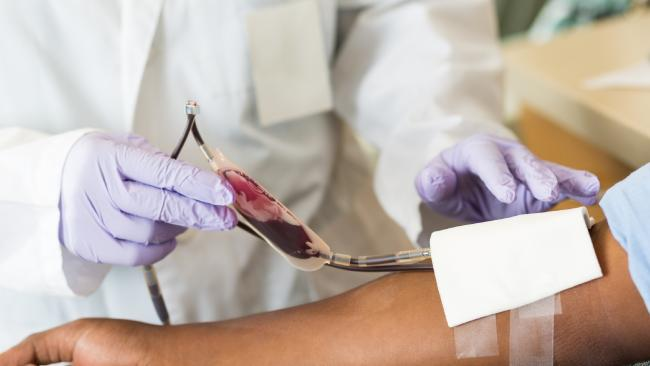 The Australian Red Cross says it desperately needs O-negative blood. Picture: Supplied