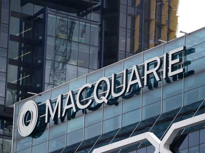 The Macquarie Group building, in Sydney. Photo AAP