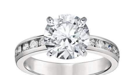 A $58k diamond ring