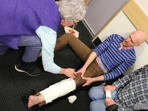 Toowoomba bushwalkers learn from emergency doctors