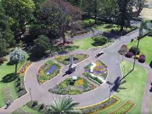 WATCH: Get a birds-eye view of Toowoomba park