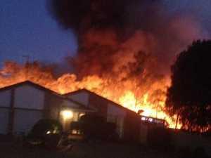 Reader photos show power of Branyan blaze