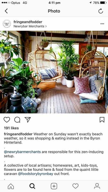 Instagram page of fringeandfodder.