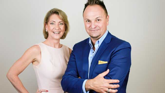 PASSING ON KNOWLEDGE: Charmian Campbell from The Driven Business Edge and Olympic Gold medallist Steven Bradbury are coming to Mackay to share business advice.