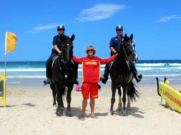 Mounted police are coming to Noosa for a school holidays police operation.