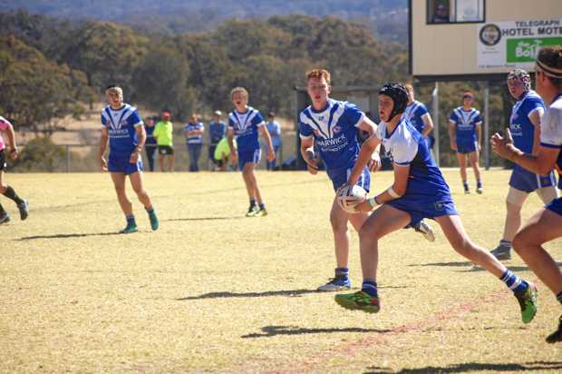 Gremlins under 16s players lost to Collegians 32-16 in the semi finals on Saturday.