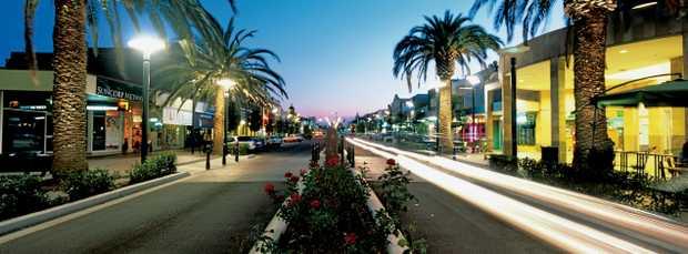 Palmerin Street at night . Photo Queensland Tourism
