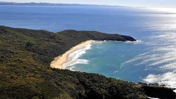 Alexandra Bay in Noosa National Park is always a popular spot with tourists.