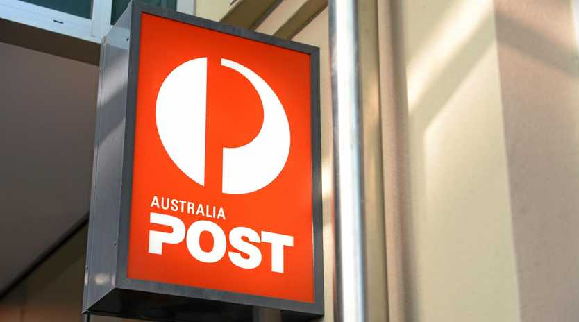 An Australia Post went into lockdown after a suspicious white powder was discovered.