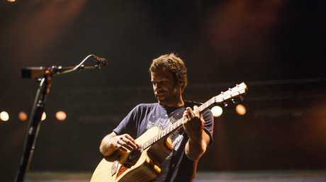 Jack Johnson performs on stage at the 25th Bluesfest in Byron Bay, Australia, 18 April 2014.