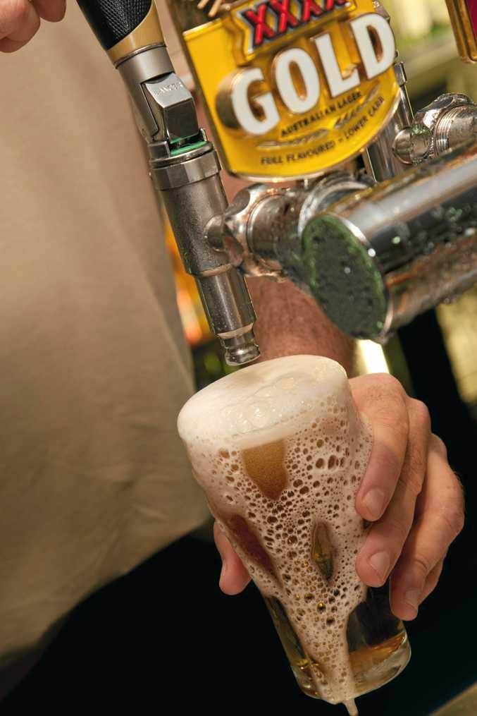 Four men robbed a Brisbane alcoholic of his gambling winnings.