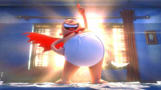 COMING SOON: Captain Underpants: The First Epic Movie will show at a film fundraiser for brain cancer in September.