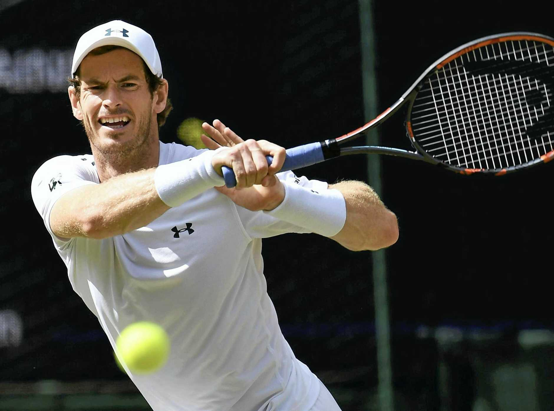 Andy Murray hasn't played since Wimbledon in July.